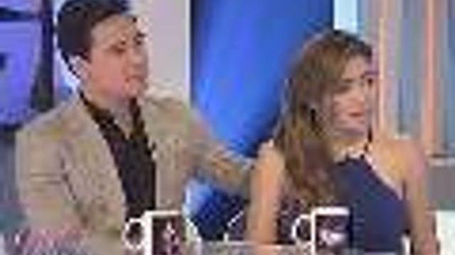 Angeline Quinto, sinabing di sila friends ni Rufa Mae Quinto; Erik Santos, aminadong naselos kay Coco Martin