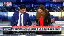 Les incidents en milieu d'après-midi à La Roche-sur-Yon entre environ 500 manifestants et les forces de l'ordre