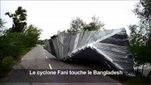 Le cyclone Fani, affaibli, touche le Bangladesh