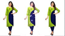 b21b022ce Latest Kurti/ Kurta Designs 2019 (1) // Latest Designer kurti design by