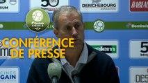 Conférence de presse ESTAC Troyes - AS Nancy Lorraine (2-1) : Rui ALMEIDA (ESTAC) - Alain PERRIN (ASNL) - 2018/2019