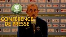 Conférence de presse Paris FC - Grenoble Foot 38 (1-0) : Mecha BAZDAREVIC (PFC) - Philippe  HINSCHBERGER (GF38) - 2018/2019