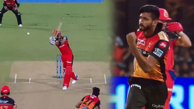 IPL 2019 RCB vs SRH: Virat Kohli departs early on run chase, Khaleel Ahmed Strikes | वनइंडिया हिंदी