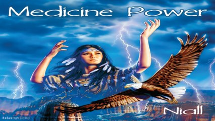 Medicine Power - 4K - Best Native american Music - Relax Night and Day