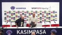 Kasımpaşa-Fenerbahçe maçının ardından - Mustafa Denizli - İSTANBUL