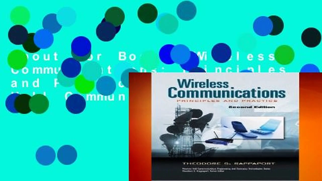 About For Books  Wireless Communications: Principles and Practice (Prentice Hall Communications