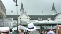 Racing fans attend 145th running of Kentucky Derby