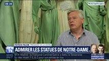 Admirer les statues de Notre-Dame à Marsac-sur-l'Isle en Dordogne