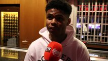 'I WANT TO FIGHT JOSH WARRINGTON IN THE UK - I WILL WHOOP HIM IN HIS HOMETOWN!' - SHAKUR STEVENSON