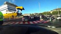 Ferry Mega express Four traversée entre Bastia et Nice avec Corsica Ferries