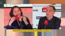 """Raphaël Glucksmann (Place publique-Parti socialiste) : """"Nous sommes la seule liste qui assume que si l'on veut que l'Europe fasse plus de choses, il lui faut des ressources propres"""""""