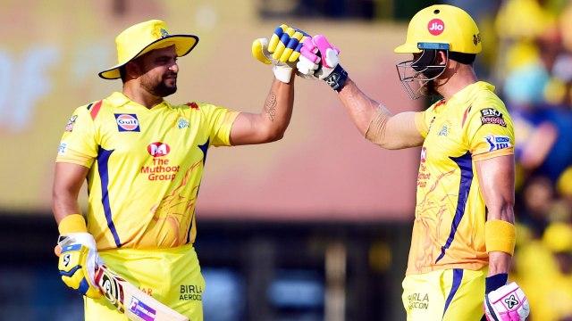 IPL 2019 CSK vs KXIP:  Faf Du Plessis 96, Suresh Raina 53 lift Chennai to 170 for 5 | वनइंडिया हिंदी