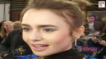 Lily Collins Interview Extremely Wicked Shockingly Evil and Vile Premiere