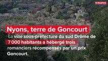 Nyons, terre de Goncourt