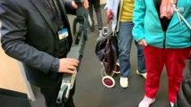 Foire de Paris : Simone, une trottinette grande comme une feuille A4