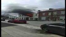 Incendie à Jemappes: deux habitations touchées