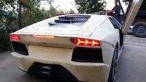 Un thaïlandais passionné de belles voitures s'est fabriqué sa propre Lamborghini