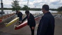 Aviron : le Sport Nautique de Nancy a baptisé ses nouveaux bateaux
