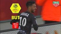 But Denis BOUANGA (46ème) / Stade de Reims - Nîmes Olympique - (0-3) - (REIMS-NIMES) / 2018-19