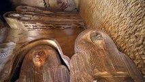 Egypte : découverte d'une tombe près des pyramides de Gizeh