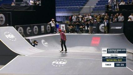 Matias Dell Olio - 3rd Skateboard Street Final - FISE European Series Madrid 2019