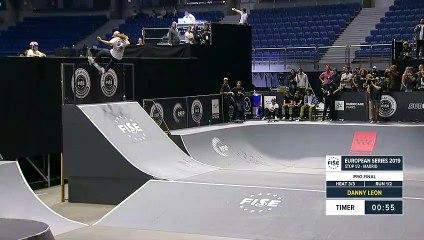 Danny Leon - 2nd Skateboard Street Final - FISE European Series Madrid 2019