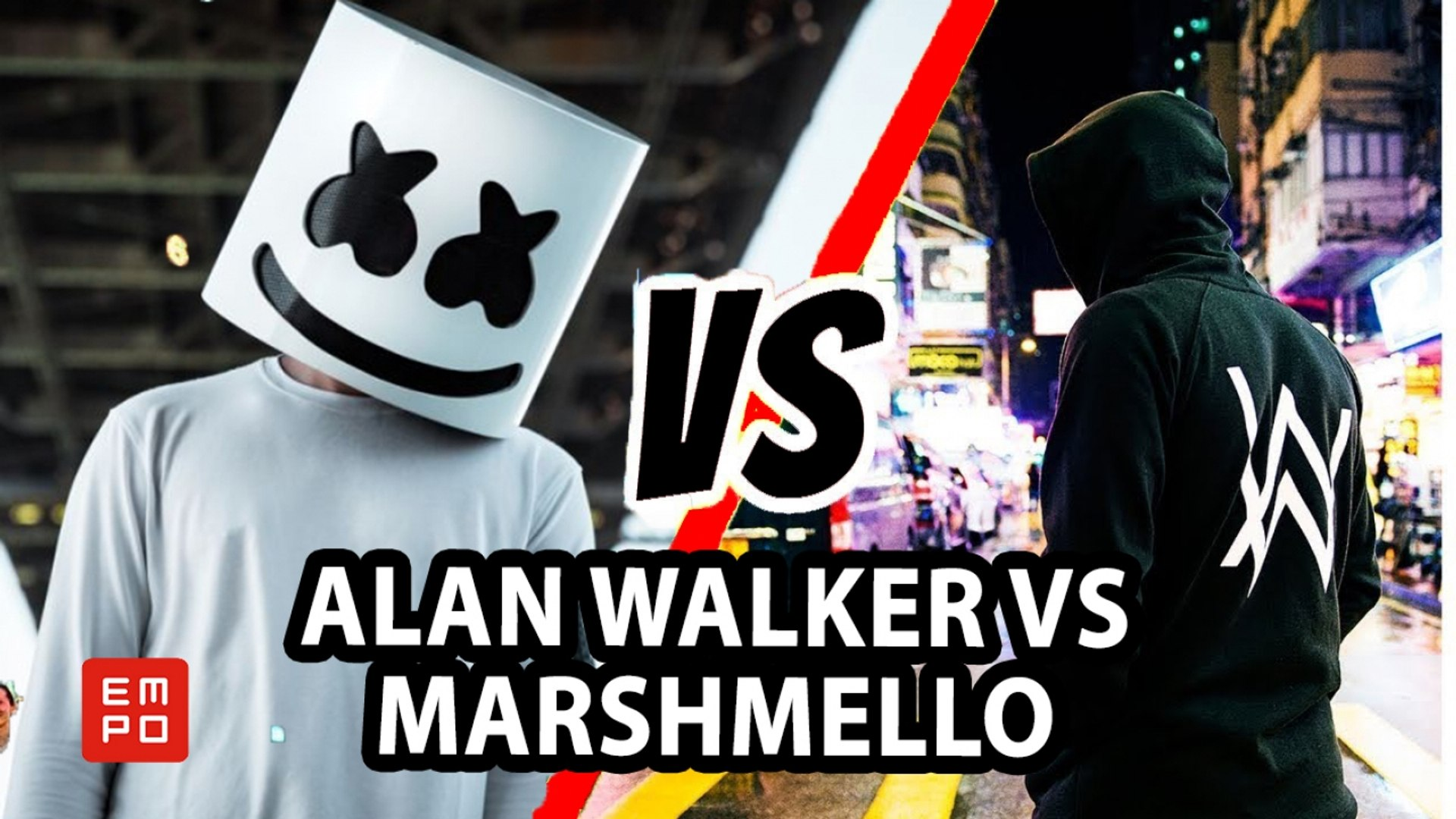 100 Gambar Alan Walker Vs Marshmello