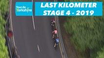 Étape 4 / Stage 4 Halifax / Leeds - Flamme Rouge / Last Kilometer - Tour de Yorkshire 2019