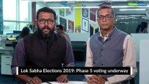 Political bazaar   Lok Sabha Elections 2019: Phase 5 voting underway