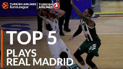 Real Madrid - Top 5 Plays