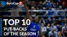 2018-19 7DAYS EuroCup: Top 10 Put-Backs!