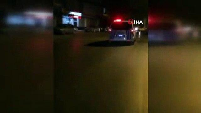Polis ekipleri dur ihtarına uymayan at arabasını kovaladı, bekçiler havaya ateş açtı- İstanbulda nefes kesen kovalamaca kamerada