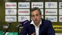 Rémi Giuitta avant Fos Provence Basket Le Portel
