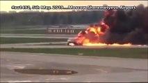 Rusya Yanan Uçak. 5 mayıs 2019 Rusya Yangın Çıkan Uçağın İniş Videosu.