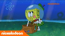 Bob l'éponge | De la mer à la lune | Nickelodeon France