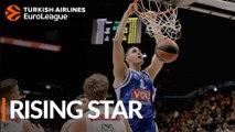 2018-19 Turkish Airlines EuroLeague Rising Star: Goga Bitadze, Buducnost VOLI Podgorica