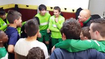U13, Cri de victoire après la victoire 5 a 3 contre Grandviller 2 le 4 mai 2019