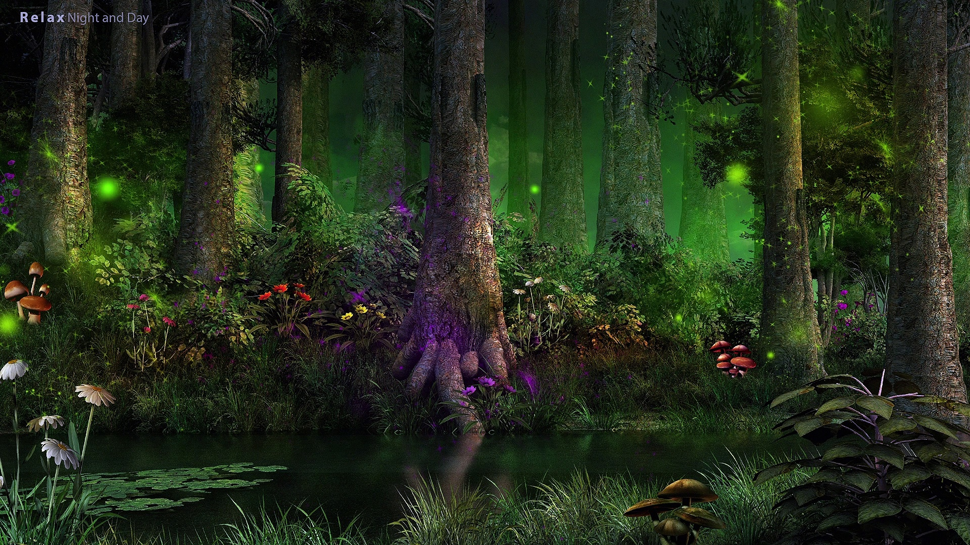 """Peaceful Music """"Enchanted Forest"""" Relaxing Music, Forest Music, Instrumental Music – 4K !"""