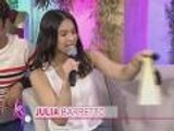 Julia Barretto's birthday gift and message to Pokwang