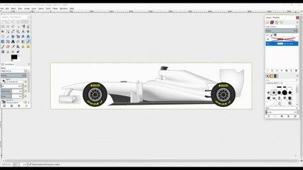 Making A Custom F1 Livery