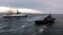 Video Vaixells russos a la mar d'Azov