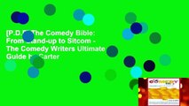 [P.D.F] The Comedy Bible: From Stand-up to Sitcom - The Comedy Writers Ultimate Guide by Carter