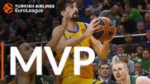 Turkish Airlines EuroLeague Regular Season Round 9 MVP: Alexey Shved, Khimki Moscow region