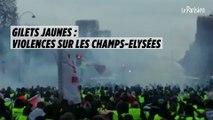 Gilets jaunes : violences sur les Champs-Elysées