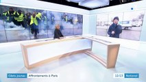 """""""Gilets jaunes"""" à Paris : à Paris, """"c'est fumigènes contre gaz lacrymogène"""""""