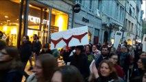 Manifestation contre les violences faites aux femmes à Besançon