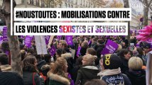 """""""Ras le viol"""" : des milliers de personnes marchent contre les violences sexistes et sexuelles"""
