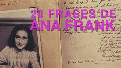 20 Frases De Ana Frank Un Diario Contra La Guerra