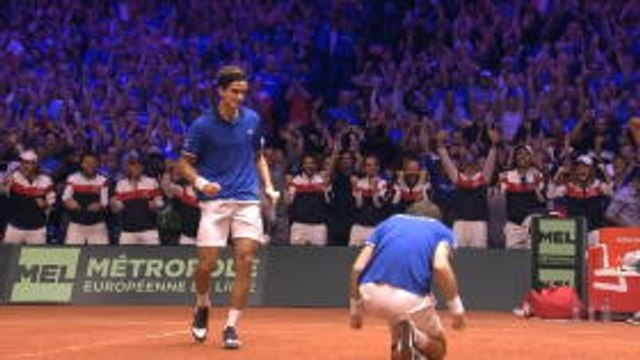 France keep Davis Cup hopes alive with hard-fought doubles win