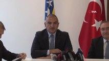 """Kültür ve Turizm Bakanı Ersoy Saraybosna'da- Kültür ve Turizm Bakanı Ersoy: - """"Bosna Hersek'in,..."""